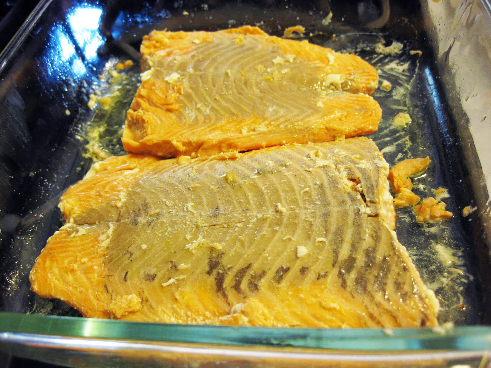 Recipe for Baked Salmon with Lemon Caper Butter Life%27s
