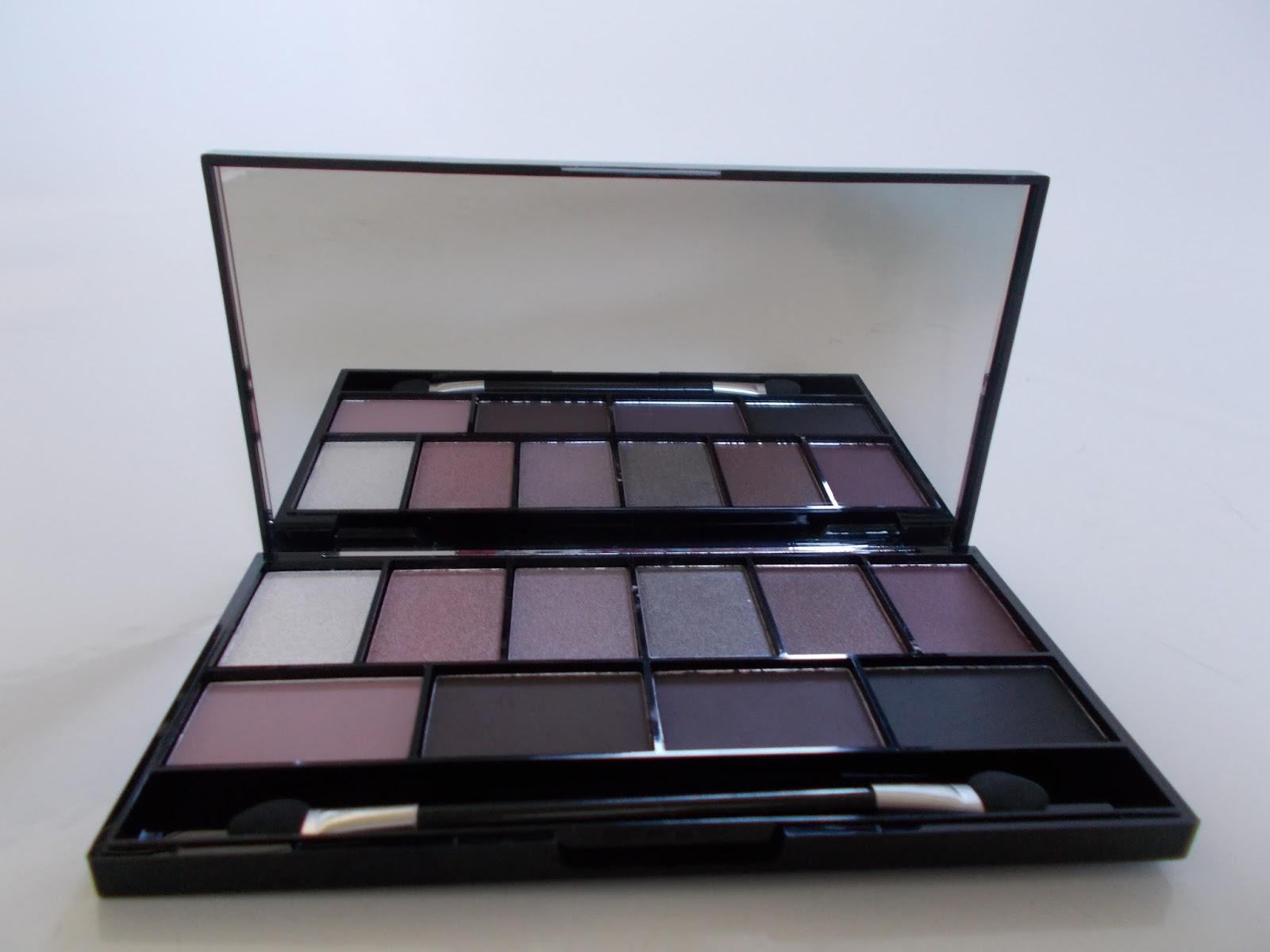 MUA Luxe Pretty Edgy Eyeshadow Palette
