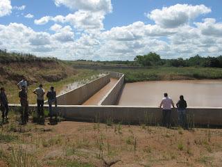 Avanços nas gestões pelas barragens e canais do sistema Taquarembó/Jaguari - Foto: Roque Marinato