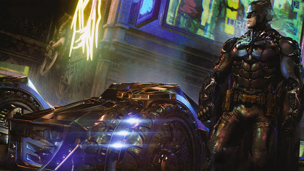 New Batmobile Arkham Knight Game 2s