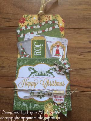 Dear Santa Gift Card Holders by Lynn Shokoples for BoBunny
