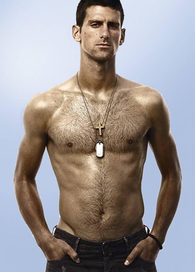 Novak Djokovic Shirtless Sports Wallpapers