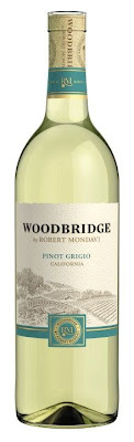 Bottle of Woodbridge by Robert Mondavi Pinot Grigio