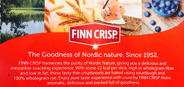 Finn Crisp sour dough rye crackers