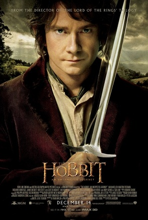 Film Poster The Hobbit 2012 movieloversreviews.blogspot.com