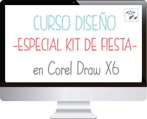 Curso Kit de Fiesta en Corel Draw