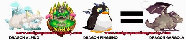 como obtener el dragon gargola en dragon city formula 2
