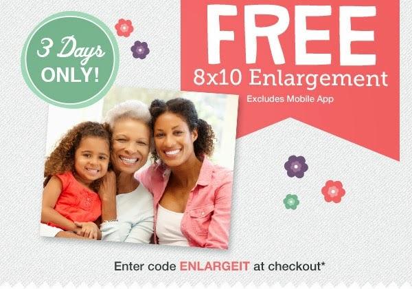Free 8x10 @ Walgreens 5/10