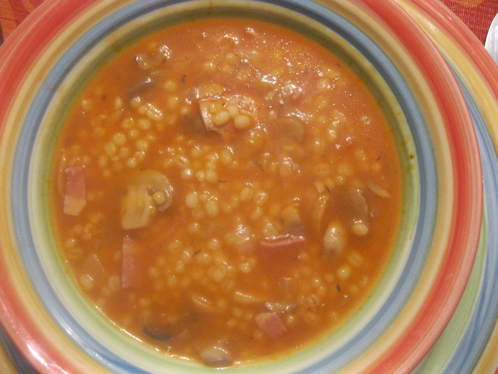 Feeding your family well: Quick Mushroom Barley Soup and Salad