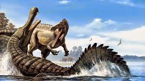 Baryonix vs Deinosuchus