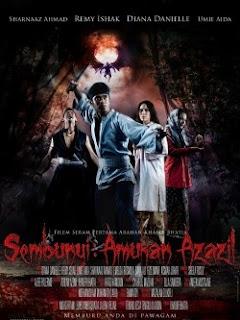Poster Sembunyi -  Amukan Azazil
