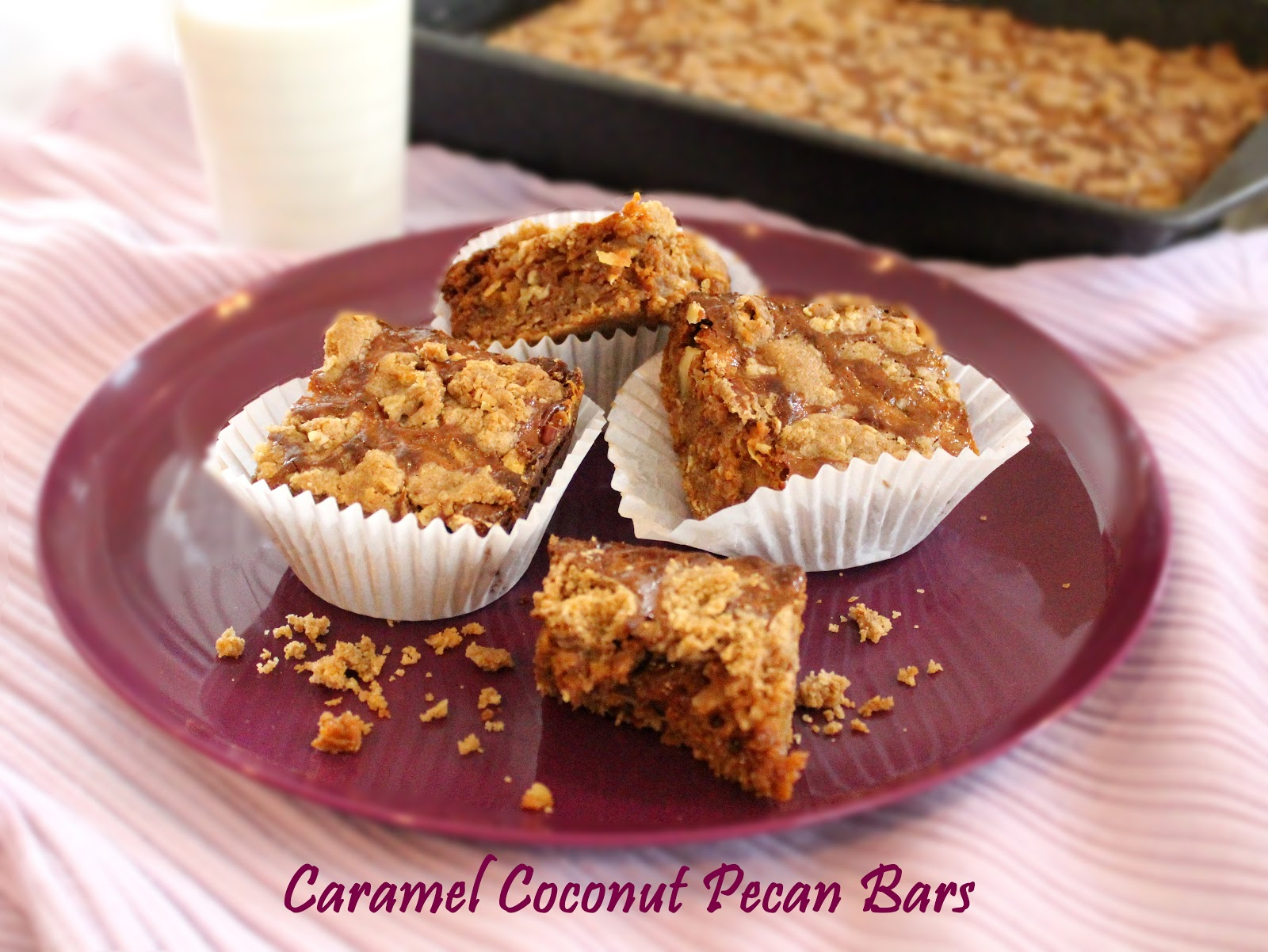 Melissa's Southern Style Kitchen: Caramel Coconut-Pecan Bars