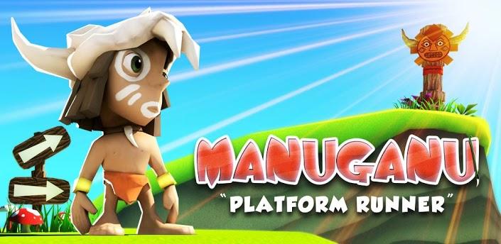 Manuganu para Android, juego de plataformas
