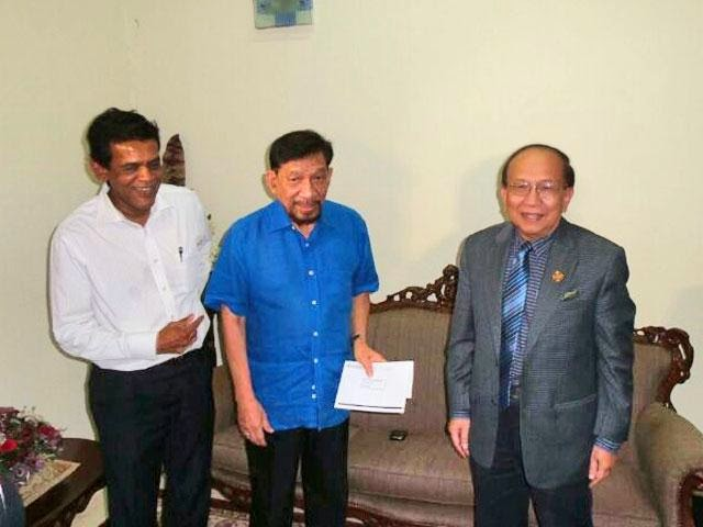 Datuk A Rahman Hassan Terima Kunjungan Rais Yatim