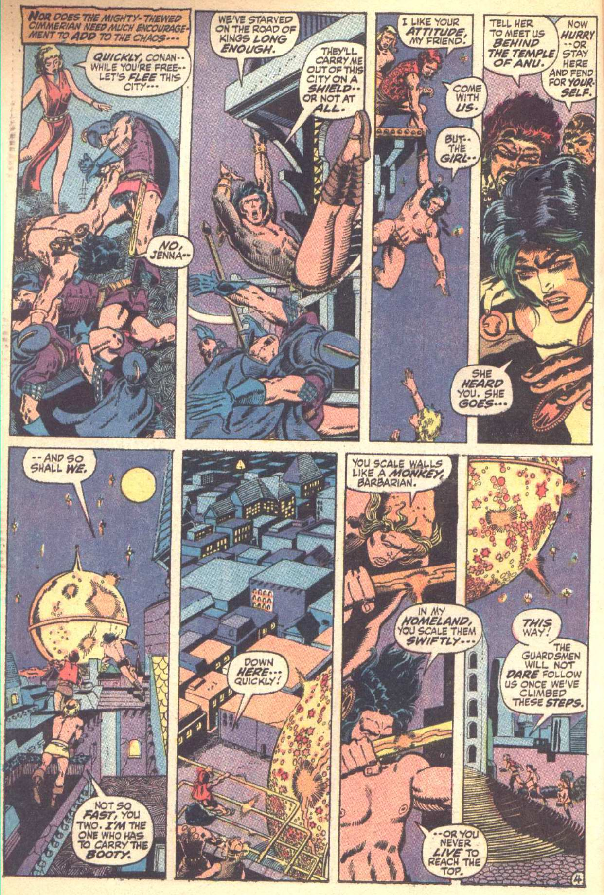 Conan the Barbarian (1970) Issue #10 #22 - English 5