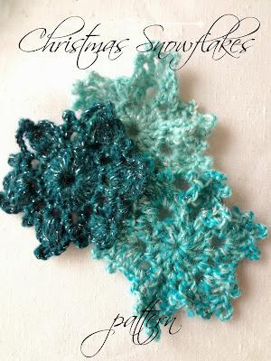 Crochet Snowflake Free Patterns - Yarnovations