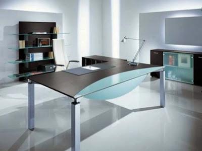 desain kantor minimalis modern 3