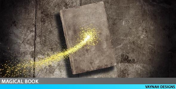 VideoHive Magical Book Intro HD