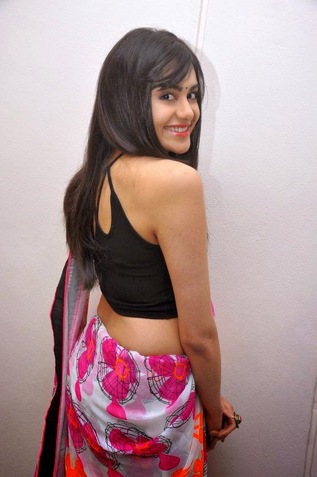 adah sharma hot backless navel hd wallpapers