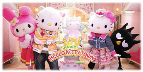 Puteri harbour Hello Kitty town