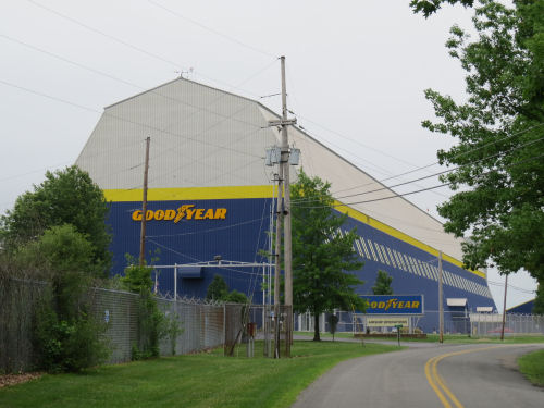 Goodyear blimp hanger