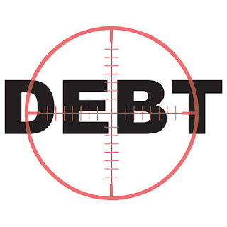 Debt With A Bullseye Pointed At It