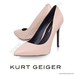 Princess Sofia Style KURT GEIGER Pumps and Reiss valentina dress