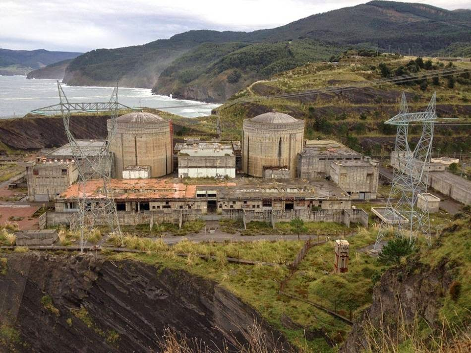 Nuclear eletrostantsiya Lemoiz, Spain