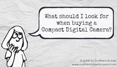 What to look for when buying a compact digital camera