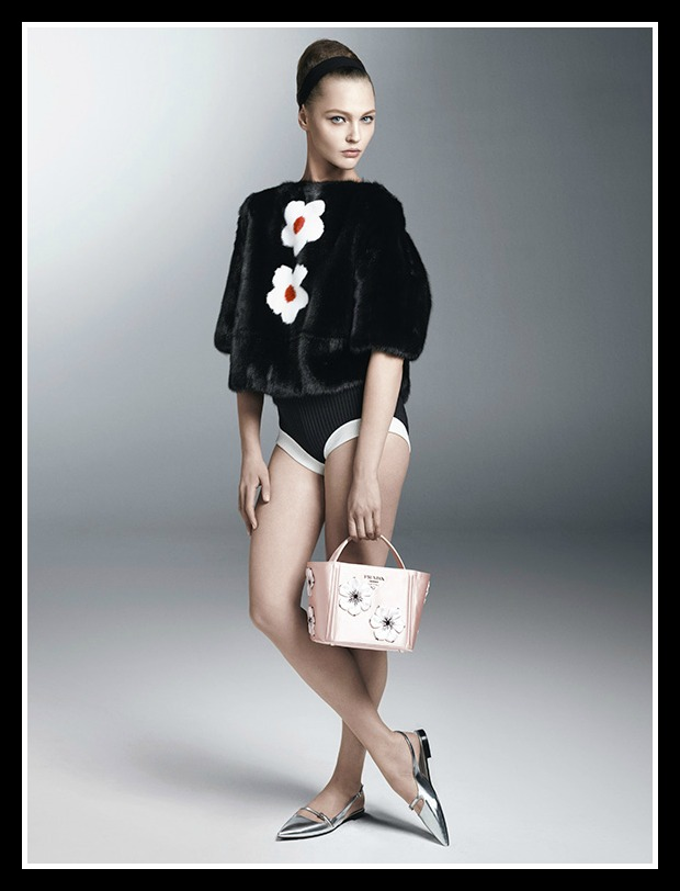 Spring 2013 Ad Campaigns Prada Woman