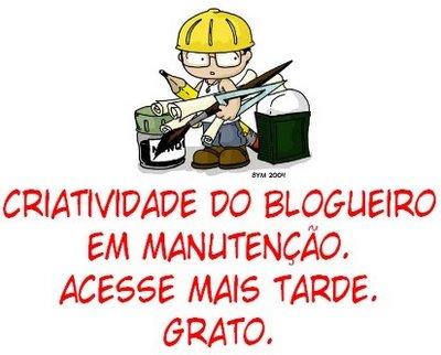Aguardem Novidades: Blog Do Garreto está em manutenção!