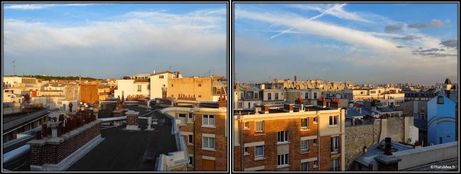 bar perchoir hipster rooftop Paris vue immeubles parisien, Perchoir cidres perchés soirée privee Paris 11eme bar cocktails