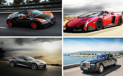 Τα ακριβότερα αυτοκίνητα για το 2015
