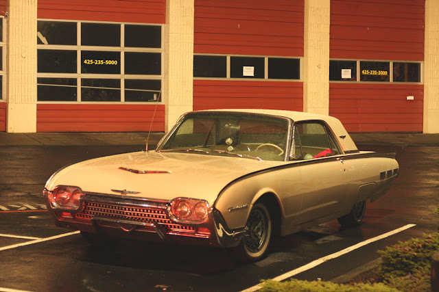 1962 Ford Thunderbird Hard Top.