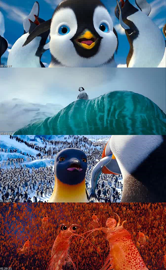 Happy Feet 2 (2011) [DVDScreener] [Latino]