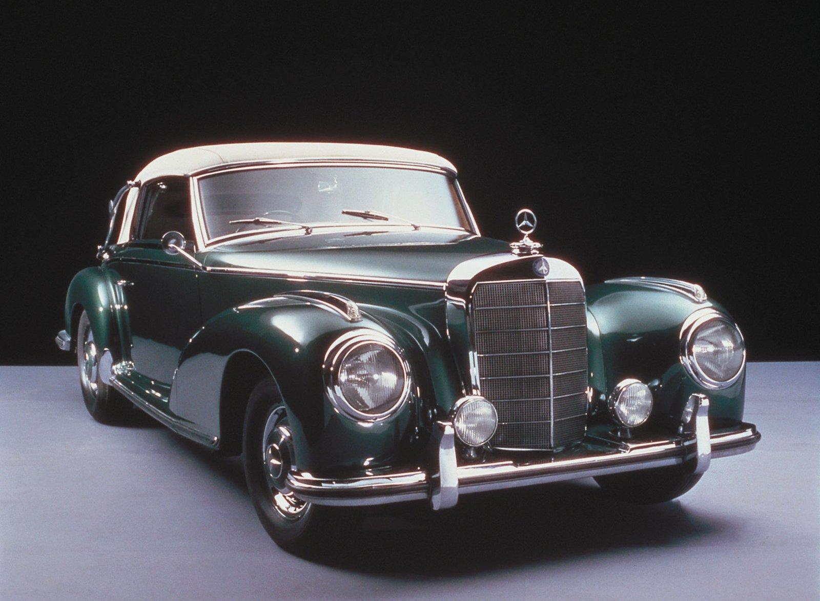 Los coches antiguos de mercedes benz del a o 1955 al 1931 for Mercedes benz 300s