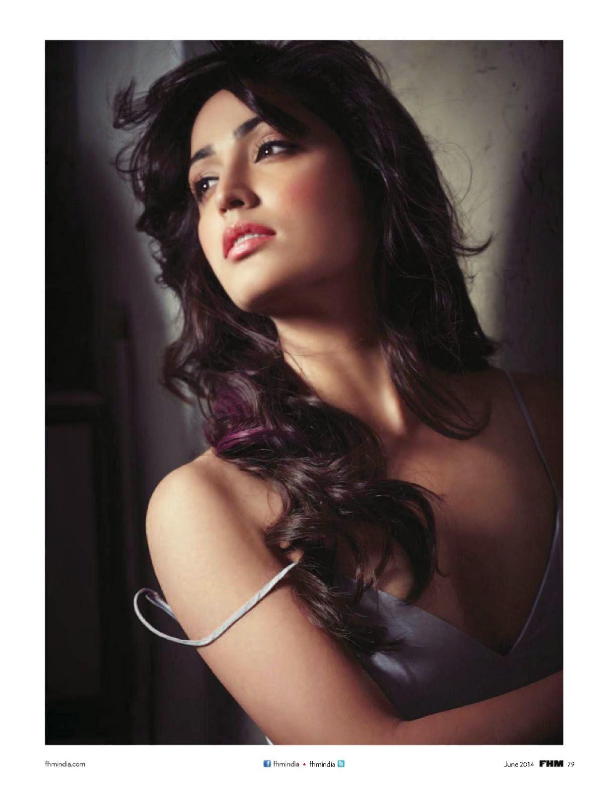 Yami Gautam shoots for FHM India