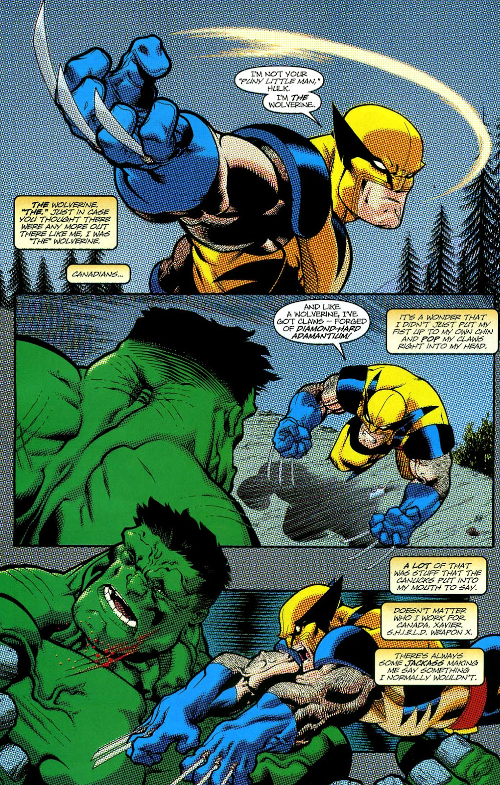 Read online Wolverine (2003) comic -  Issue #50 - 24