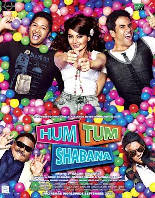 Hum Tum Shabana (2011) DVD Rip 675 MB, hum tum shabana dvd cover, hum tum shabana, blu ray dvd cover