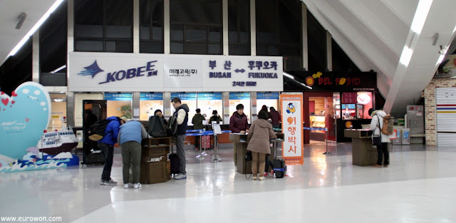 Terminal internacional de pasajeros del puerto de Busan