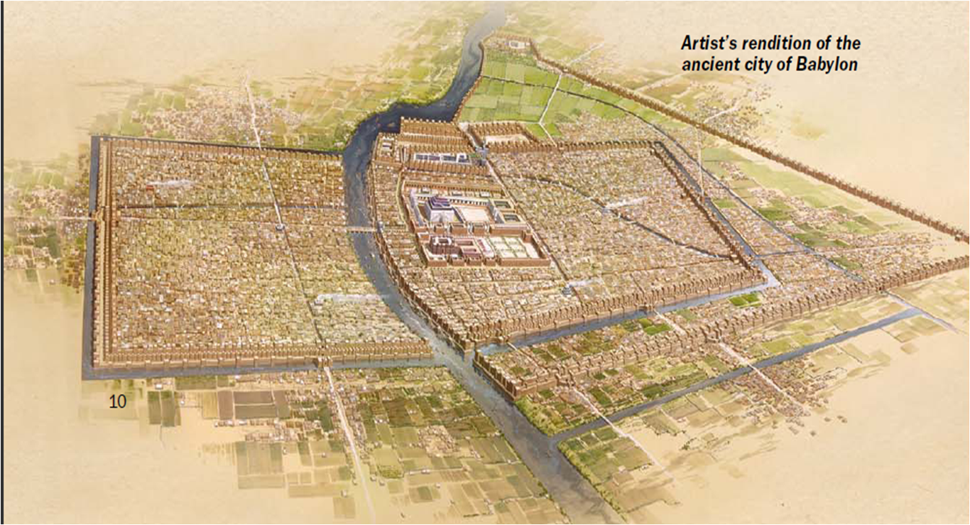 city of babylon map - photo #8