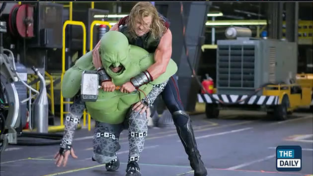 hulk thor the avengers