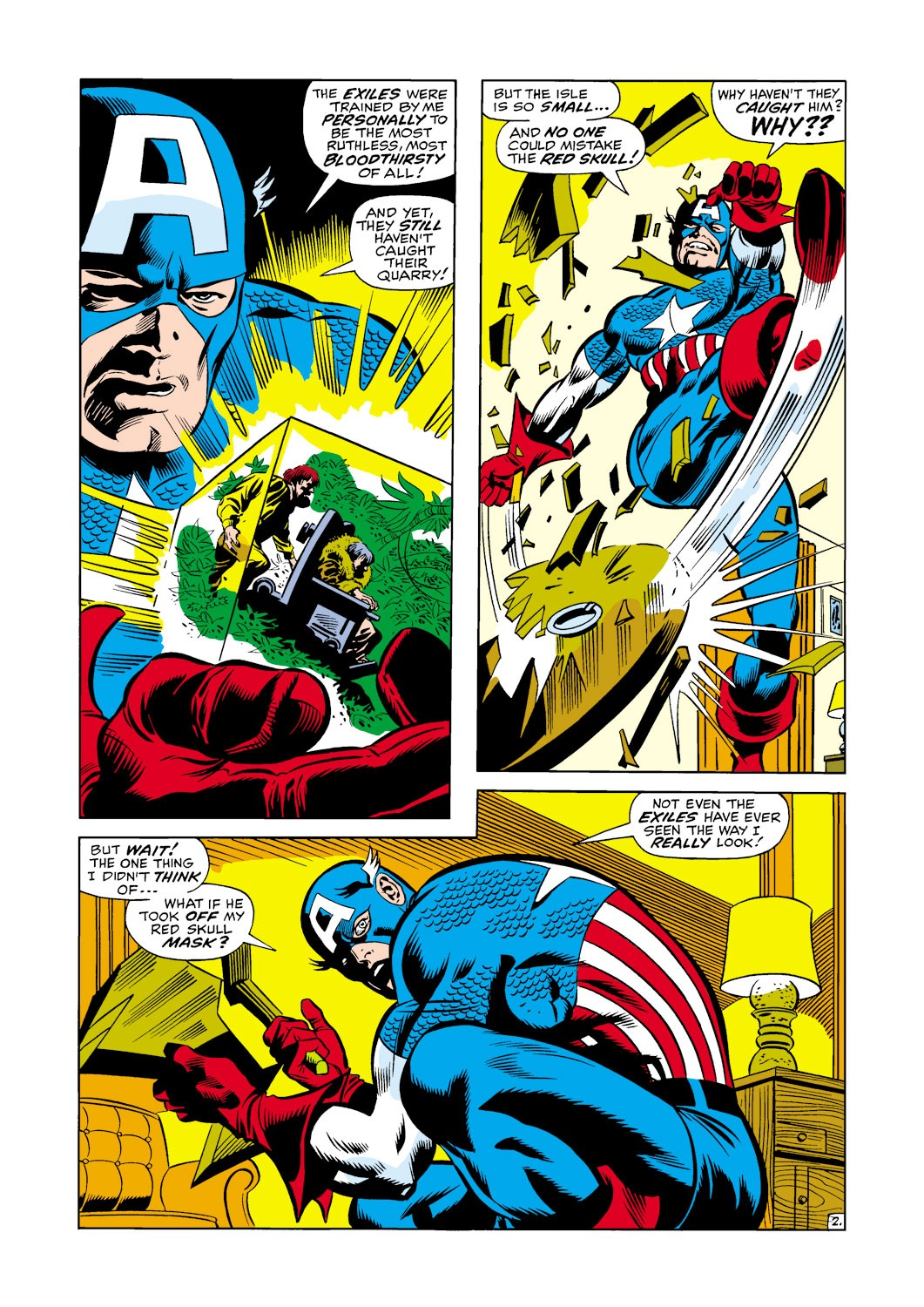 Captain America (1968) Issue #118 #32 - English 3
