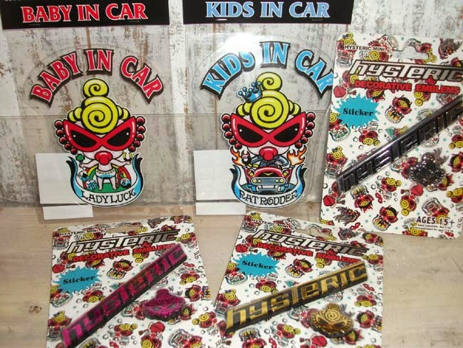 HYSTERIC MINI Car Goods