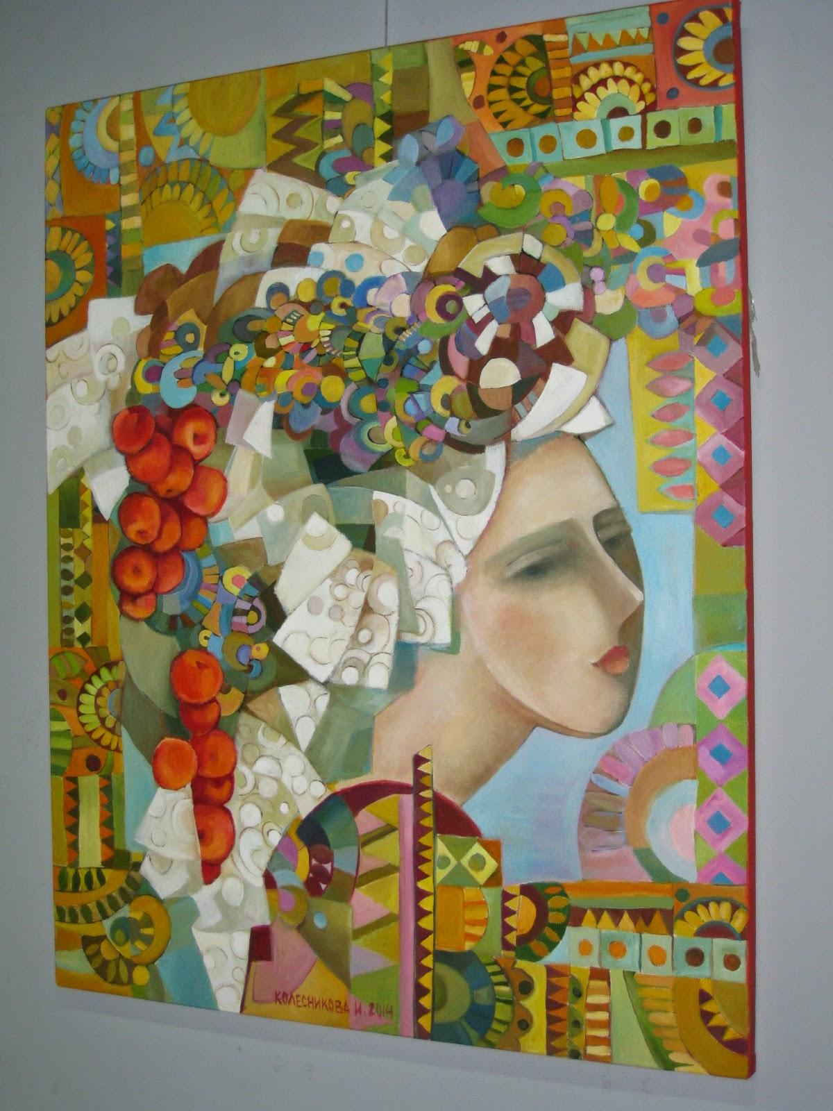 выставка картин Ирины Колесниковой