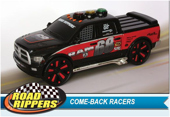 Life Is A Sandcastle Toystate Road Rippers Come Back Racers