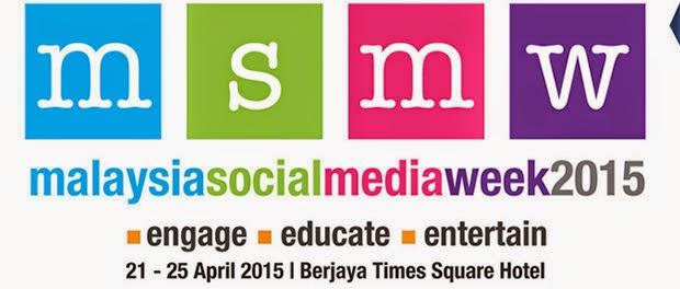 Anugerah Malaysia Social Media Week 2015