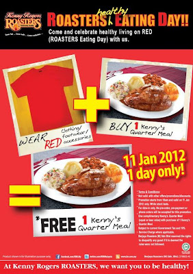 kenny rogers roasters buy 1 free 1 when you wear red on. Black Bedroom Furniture Sets. Home Design Ideas