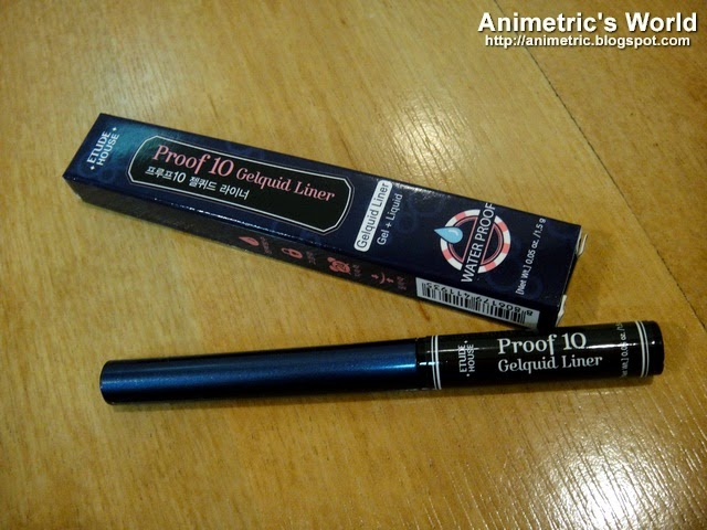 Etude House Proof 10 Gelquid Liner Review
