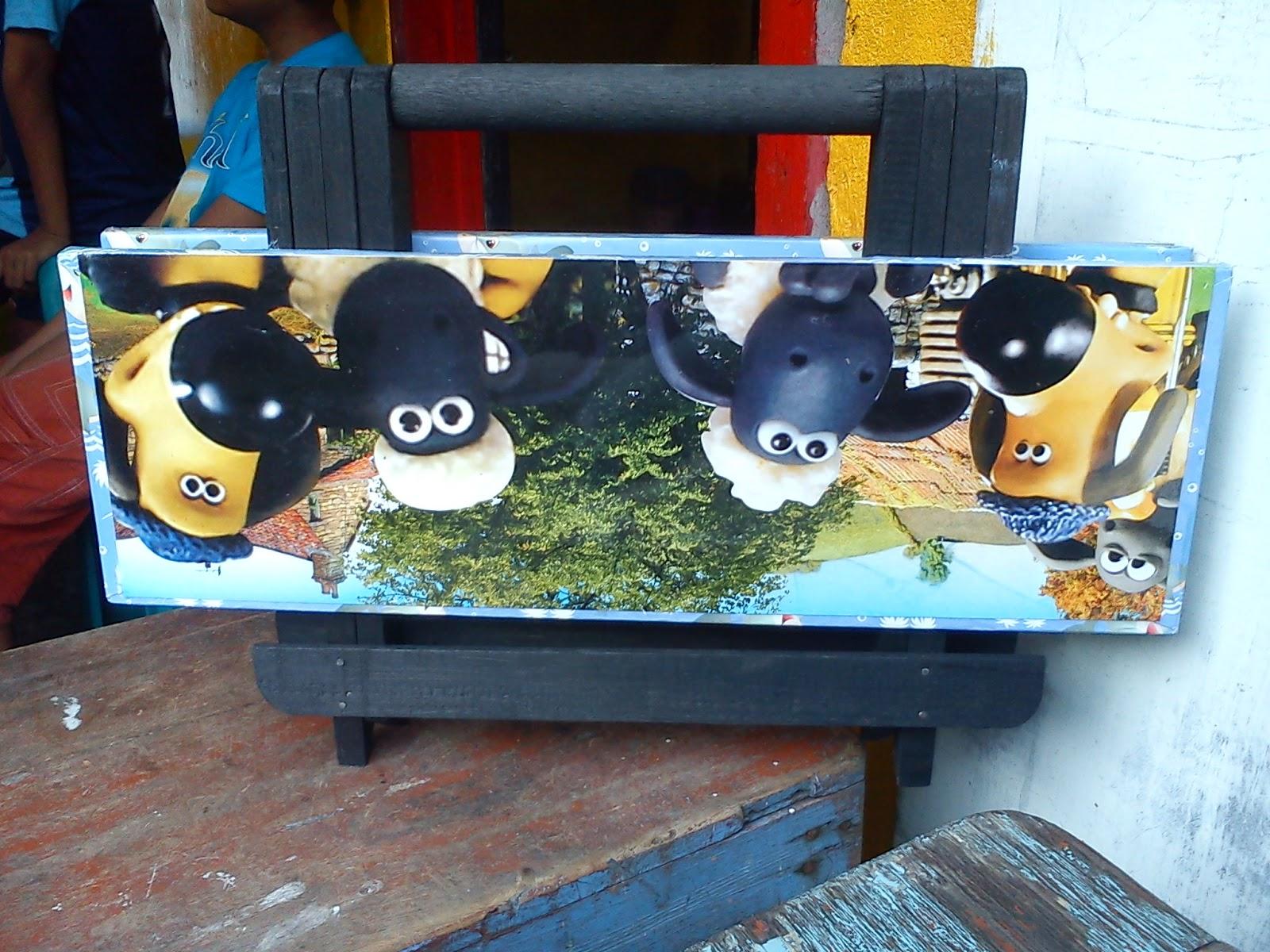 Cute Bday Souvenirs Wooden Craft